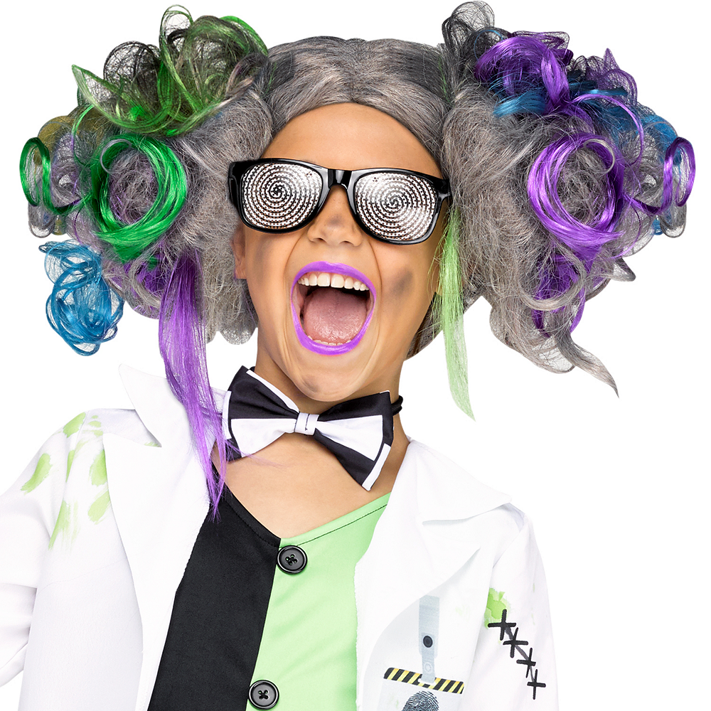 Girls Mad Scientist Costume Image #3