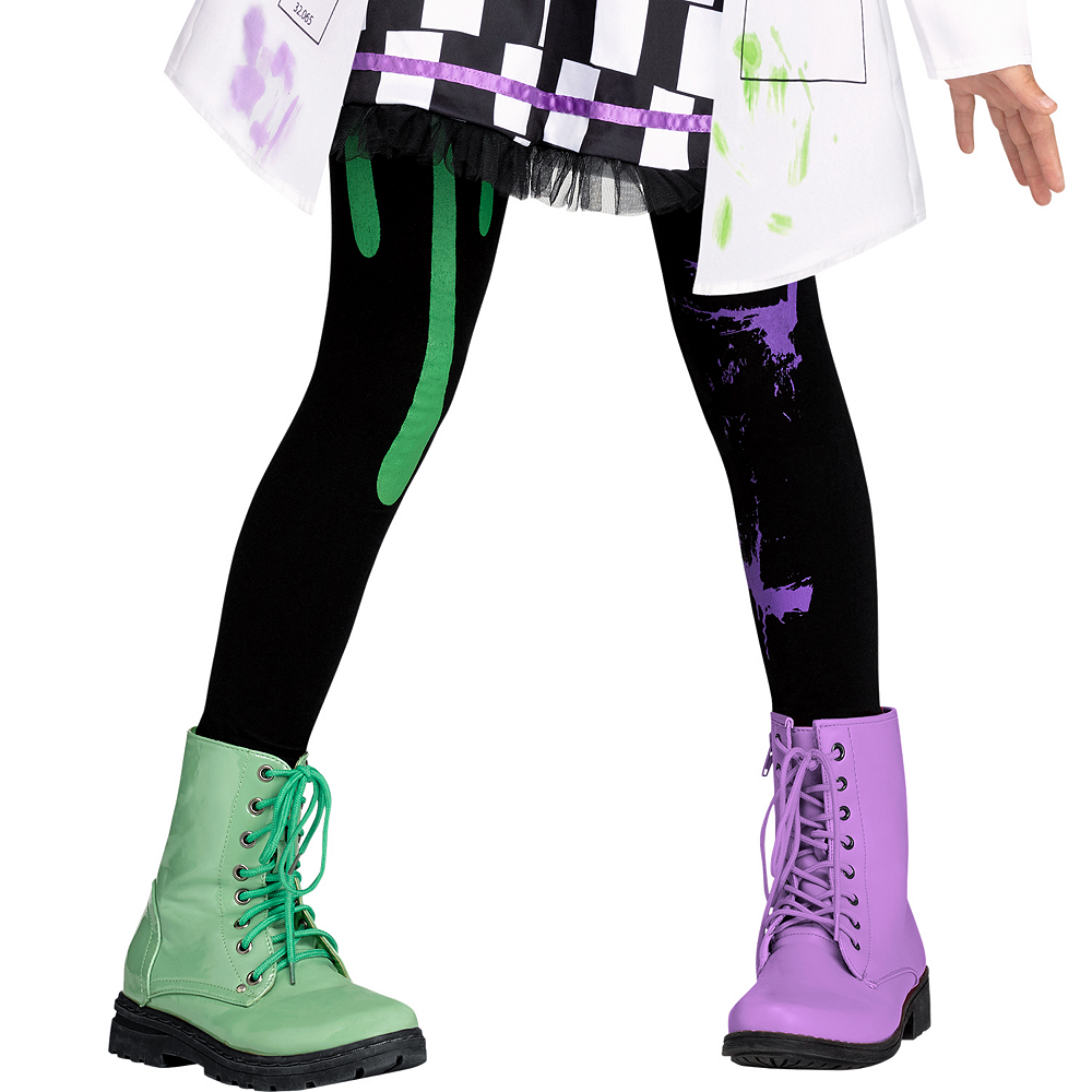 Girls Mad Scientist Costume Image #4