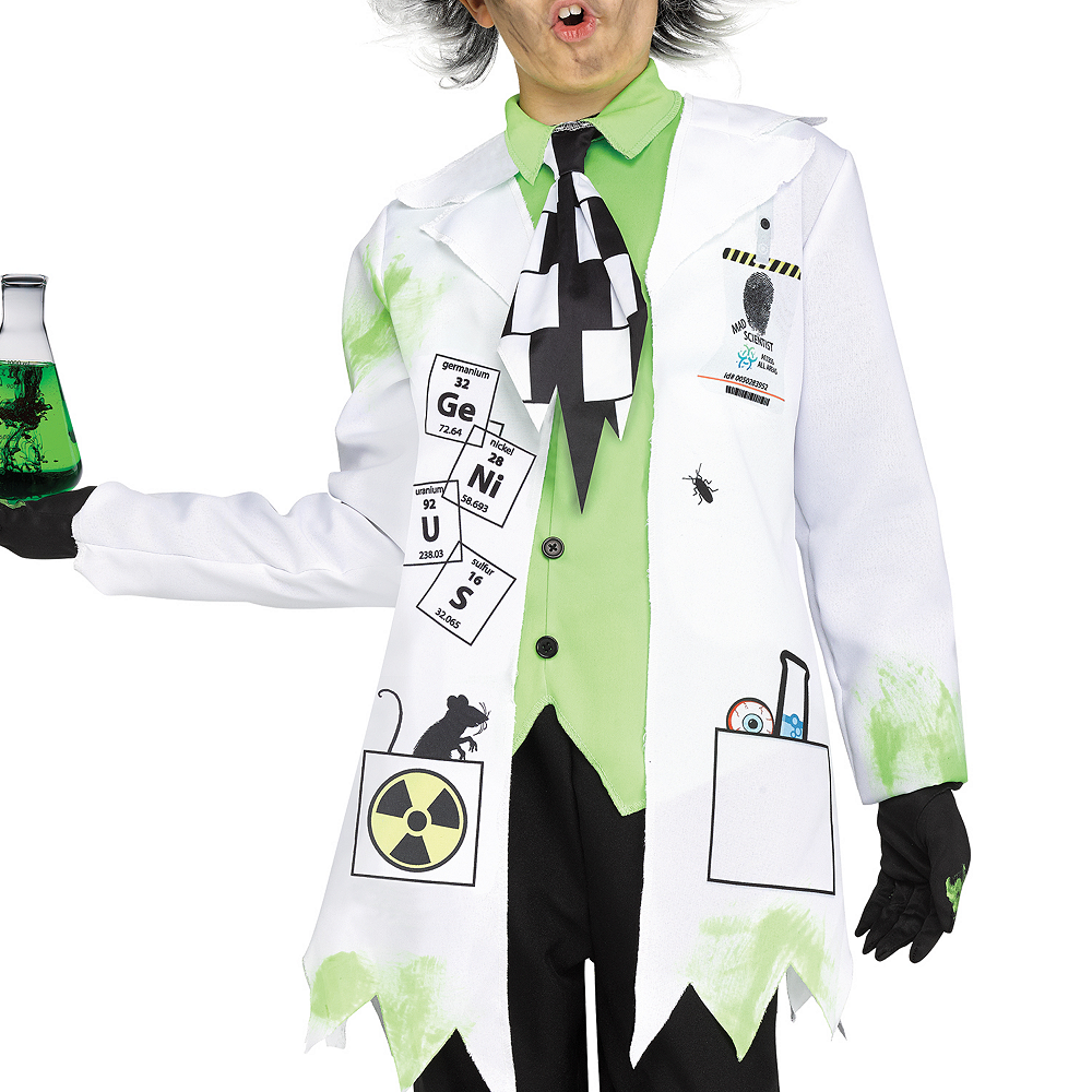 Boys Mad Scientist Costume Image #2