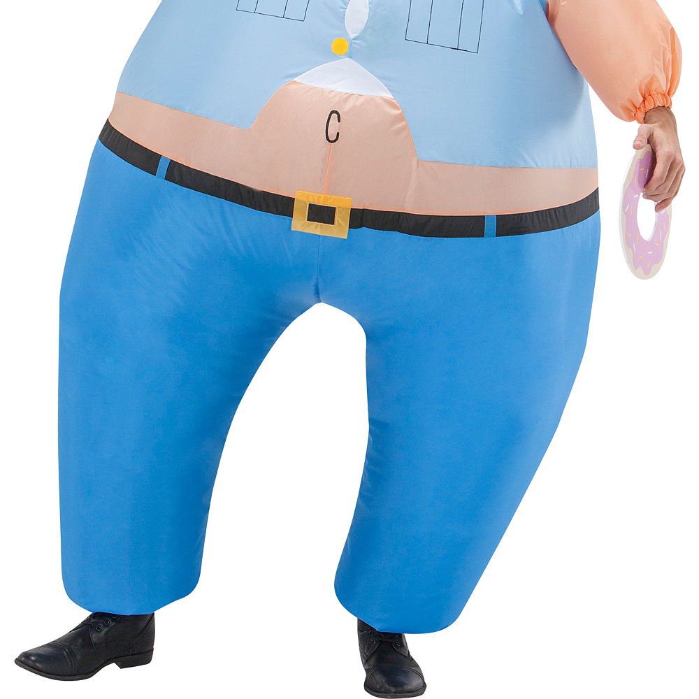 Adult Inflatable Cop Costume Image #3