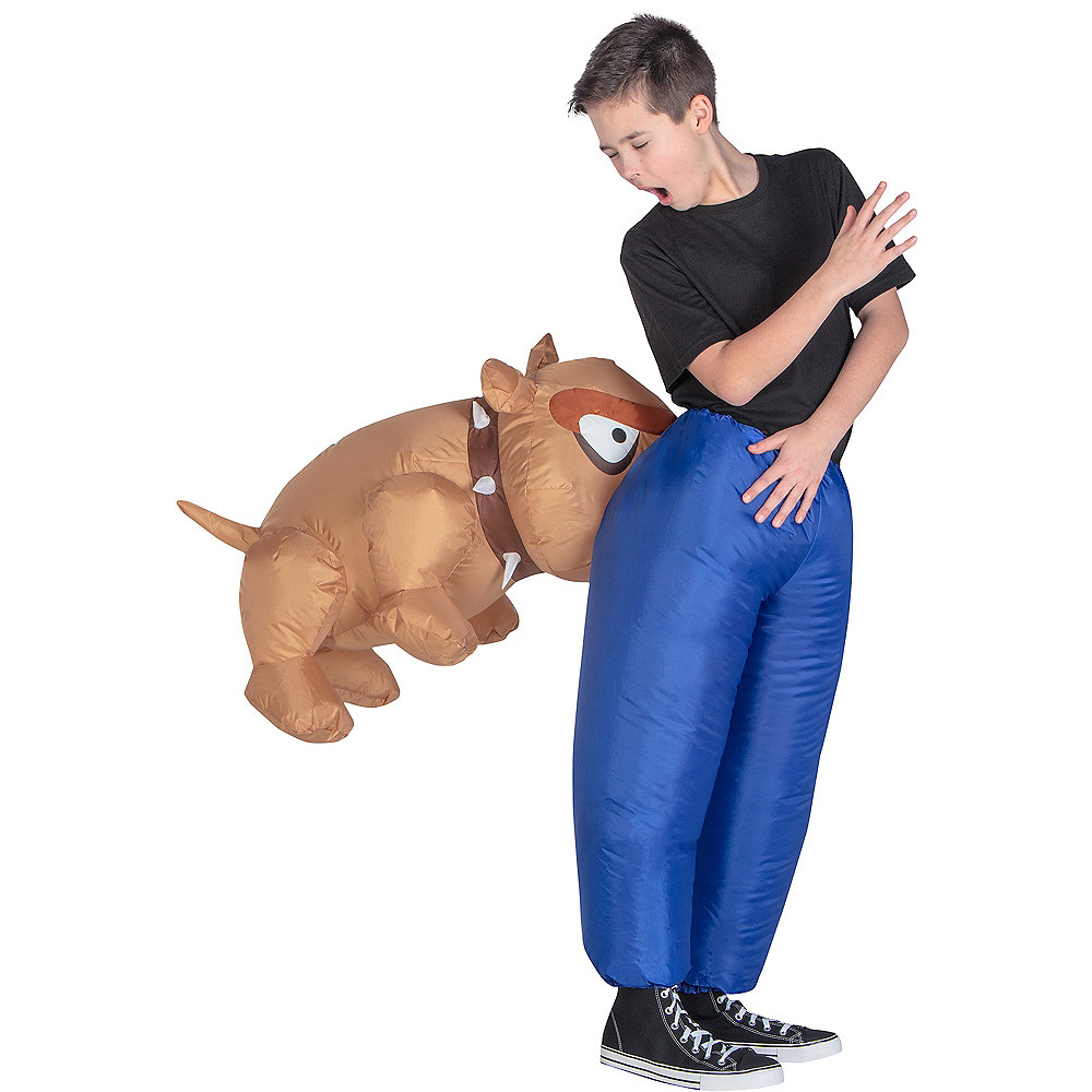 Nav Item for Child Inflatable Dog Costume Image #1