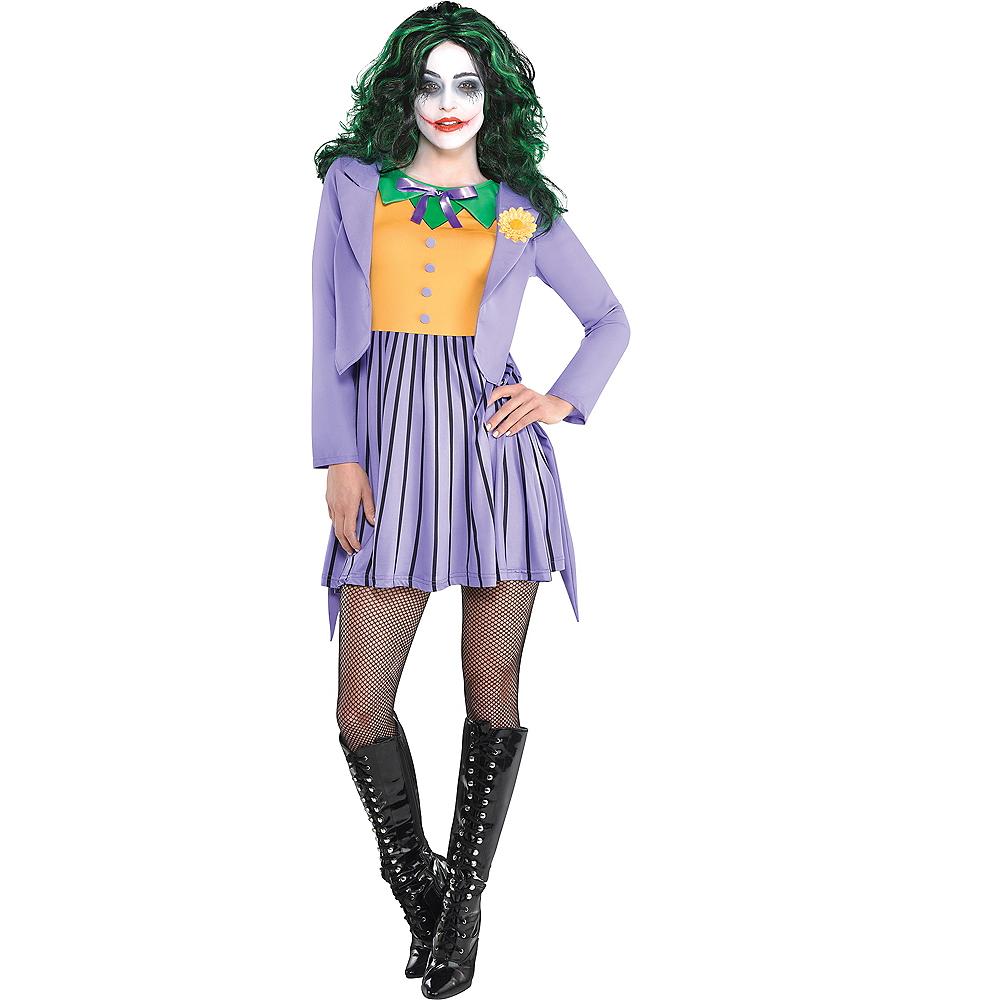 Adult Joker Dress - Batman Image #1