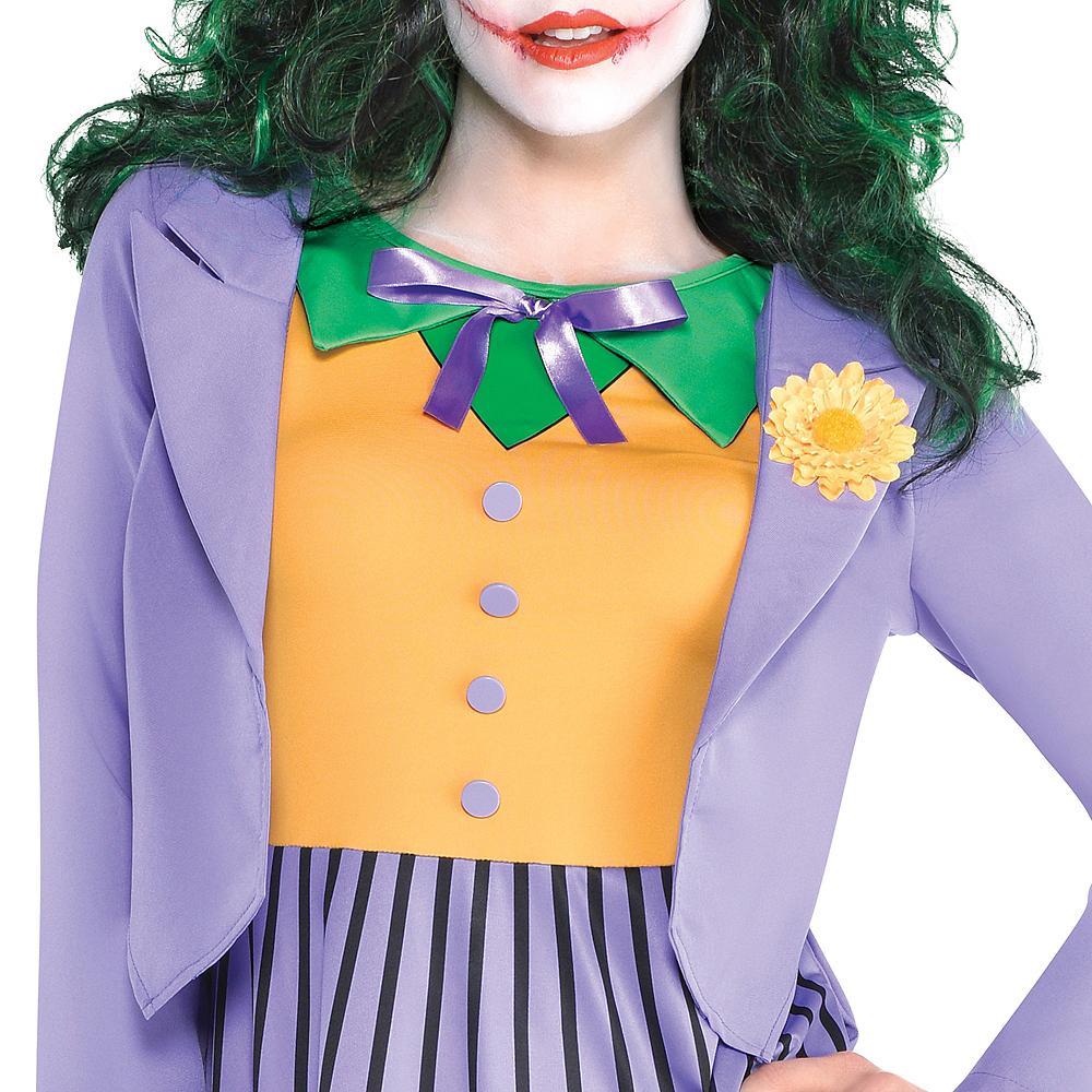 Adult Joker Dress - Batman Image #2