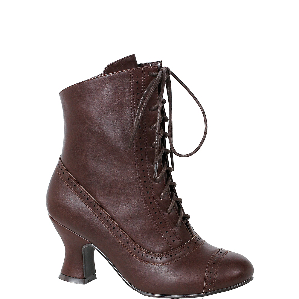 Womens Sarah Brown Victorian Boots Image #1