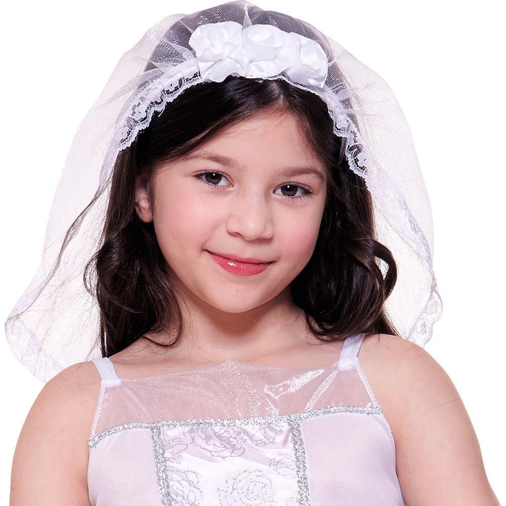 Girls Dreamy Bride Costume Image #2