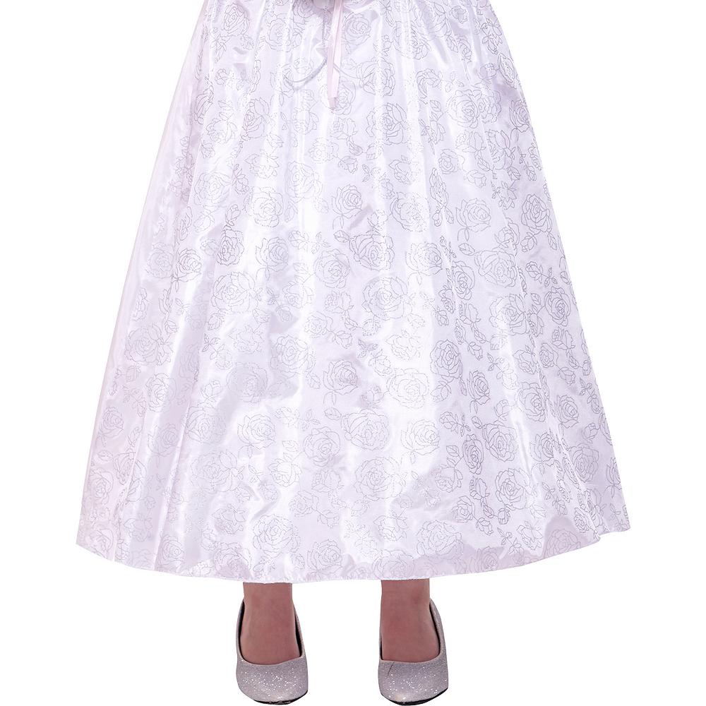 Girls Dreamy Bride Costume Image #4