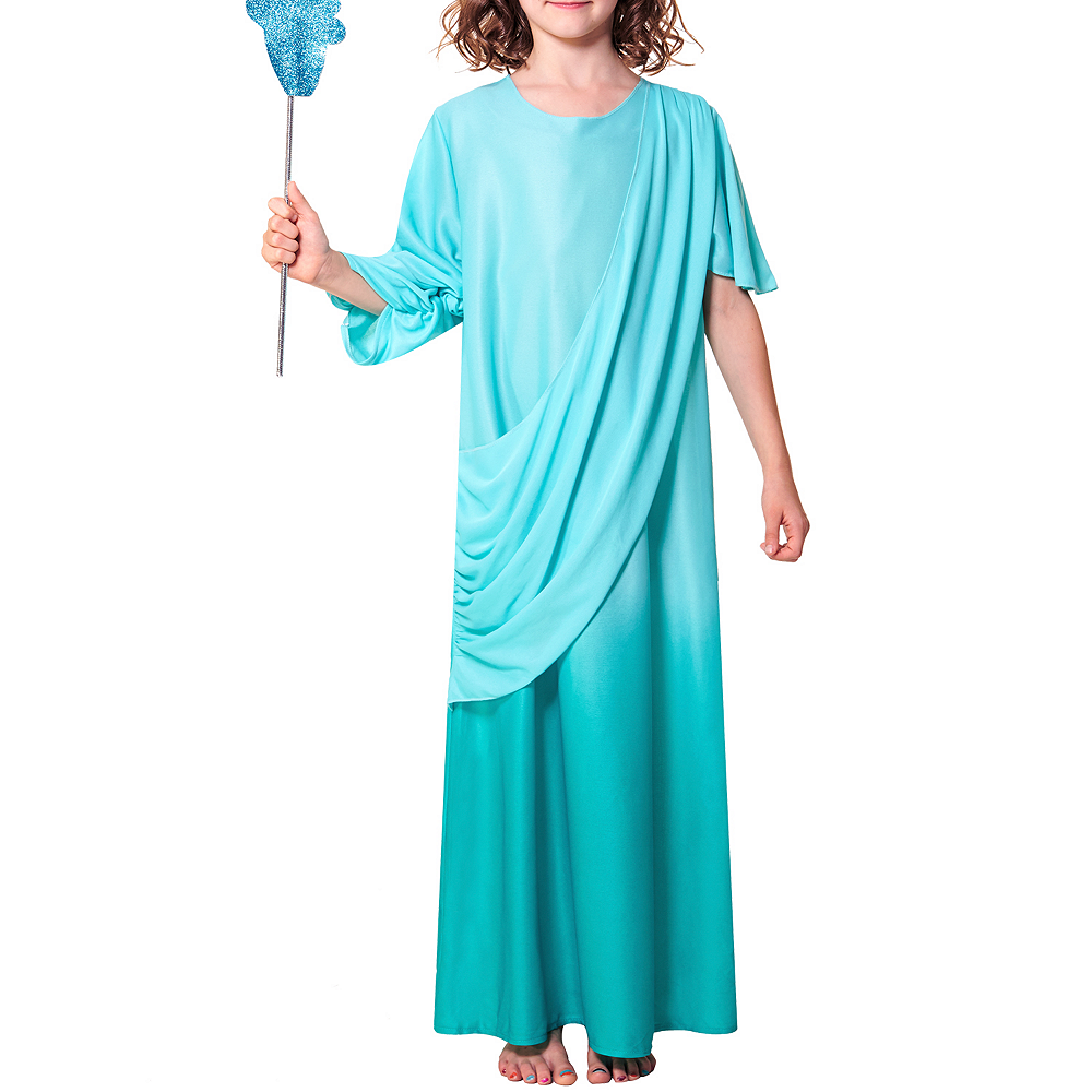 Nav Item for Girls Statue of Liberty Costume Image #2