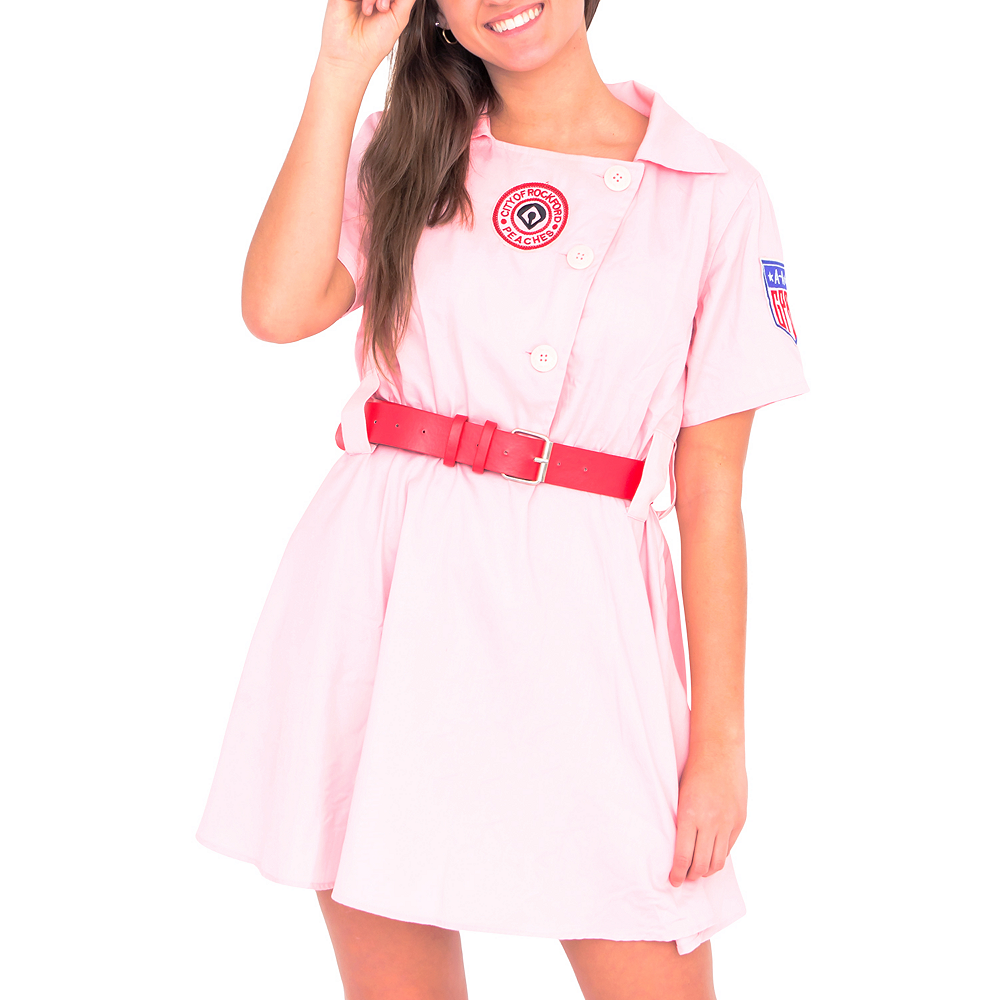 Womens AAGPBL Rockford Peaches Costume - A League of Their Own Image #3