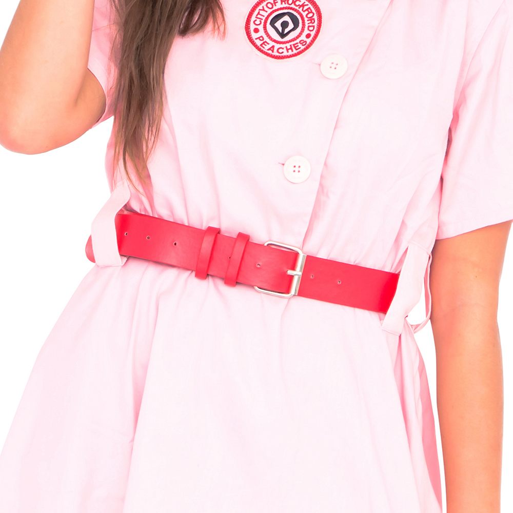 Womens AAGPBL Rockford Peaches Costume - A League of Their Own Image #4