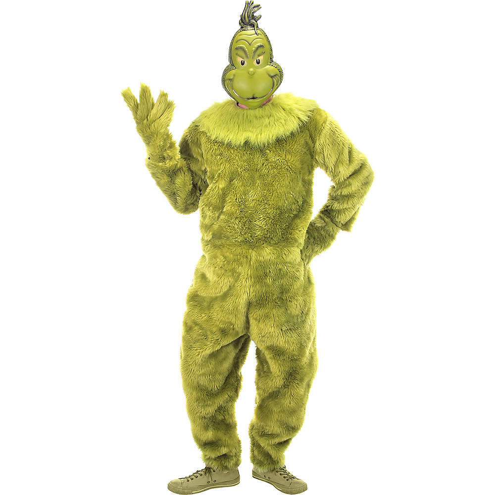Mens Grinch Costume Image #1