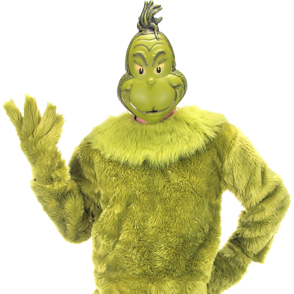 Mens Grinch Costume Image #3