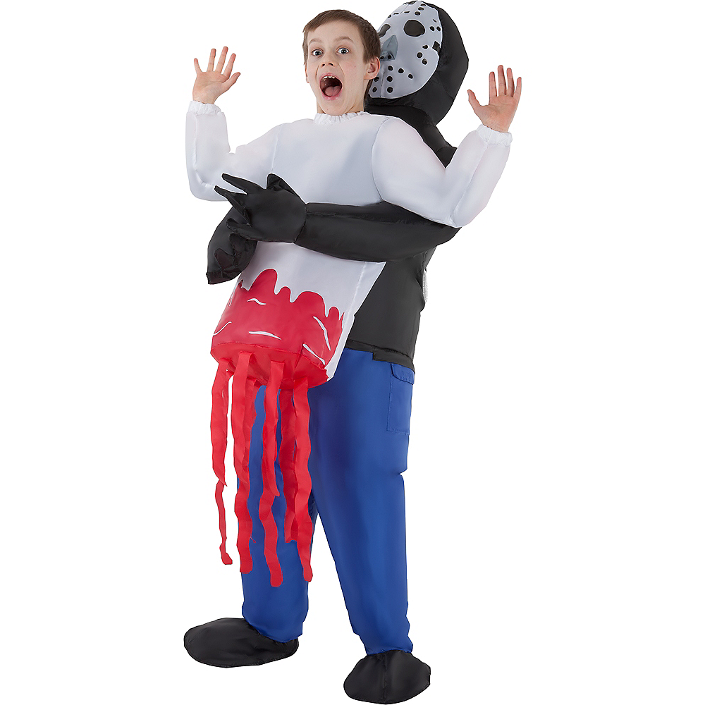 Child Inflatable Serial Killer Pick-Me-Up Costume Image #1