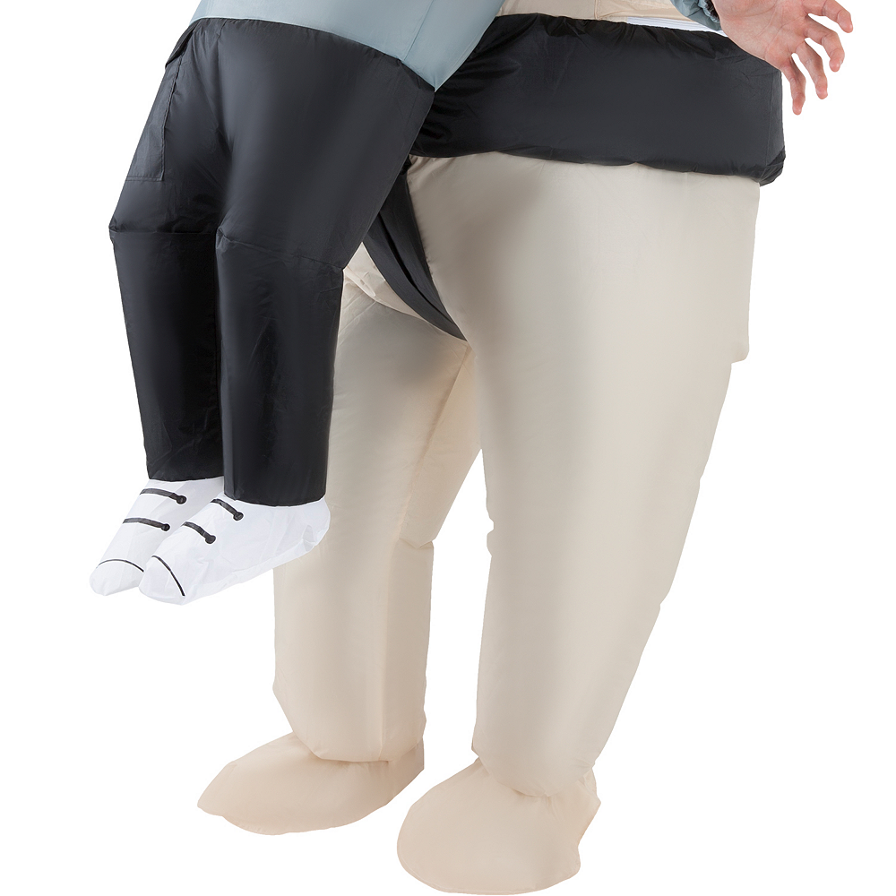 Adult Inflatable Sumo Wrestler Pick-Me-Up Costume Image #4