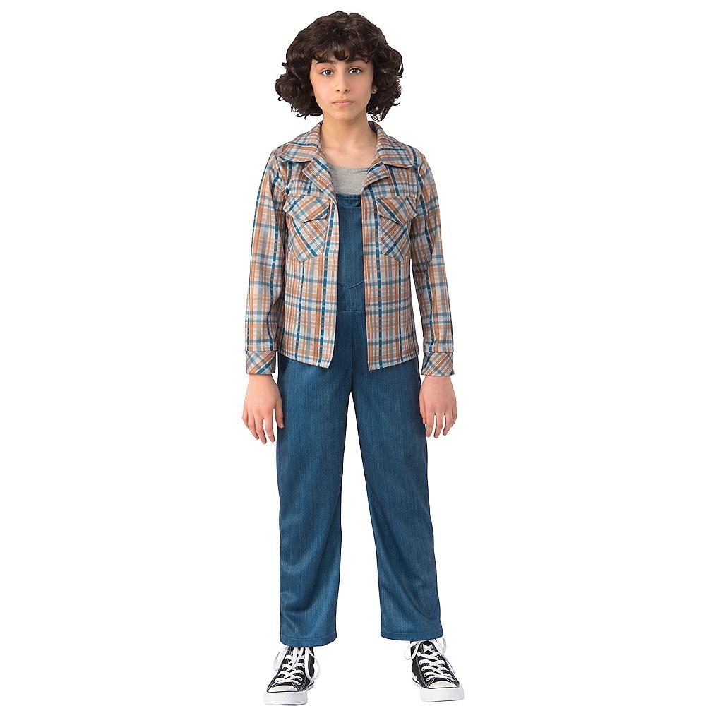 Child Eleven Plaid Shirt - Stranger Things Image #1