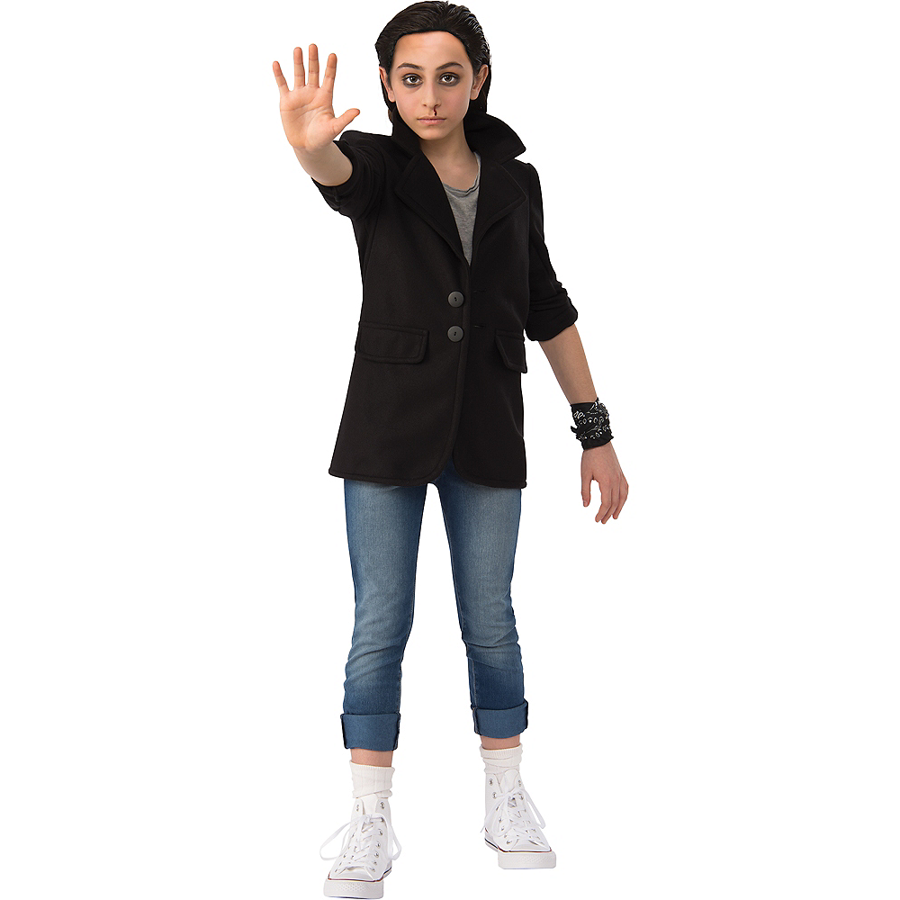 Girls Eleven Punk Look Costume - Stranger Things Image #1