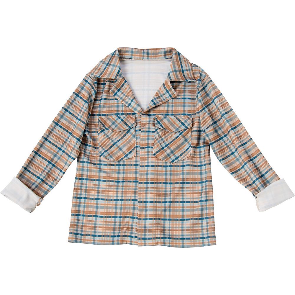 Adult Eleven Plaid Shirt - Stranger Things Image #2