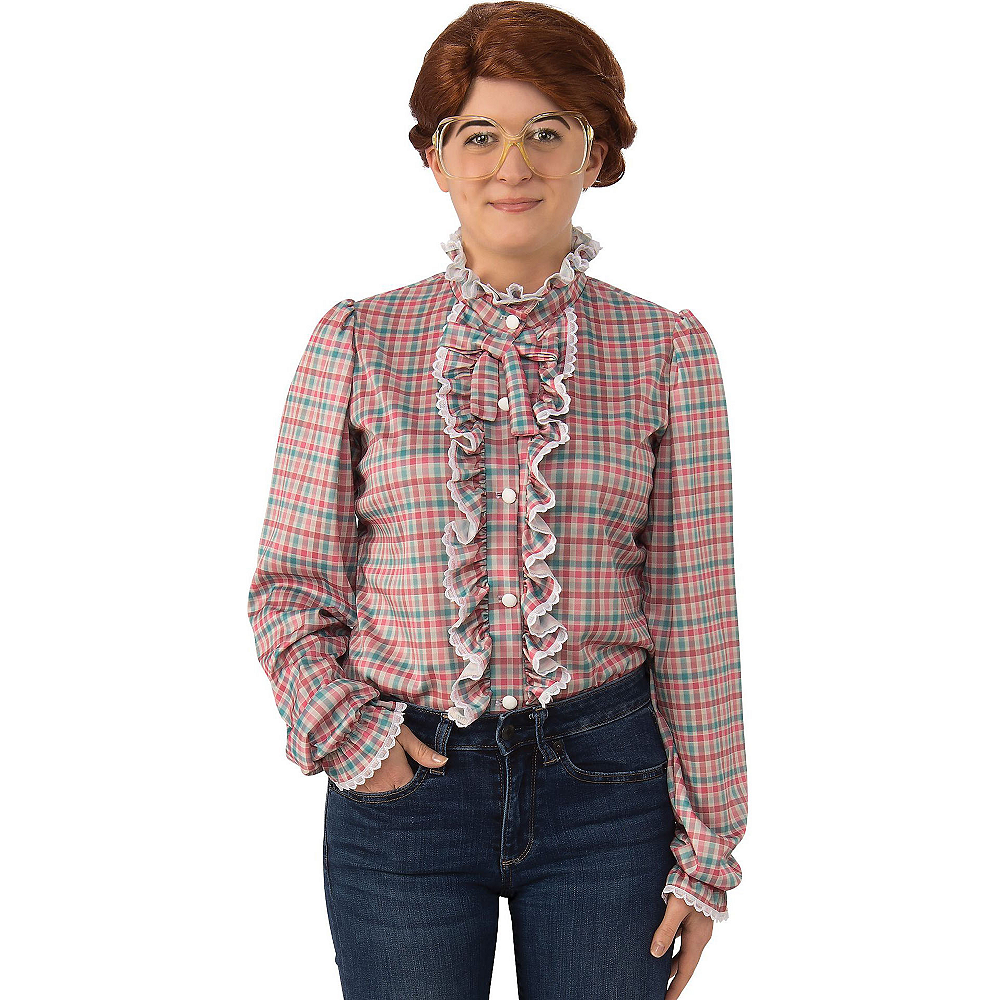 Adult Barb Plaid Shirt - Stranger Things Image #1