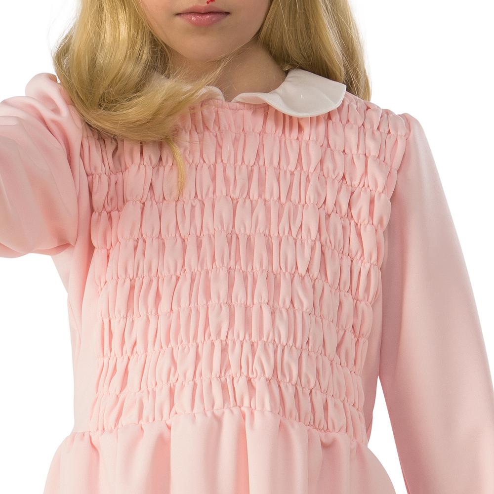 Girls Eleven Pink Dress Costume - Stranger Things Image #2