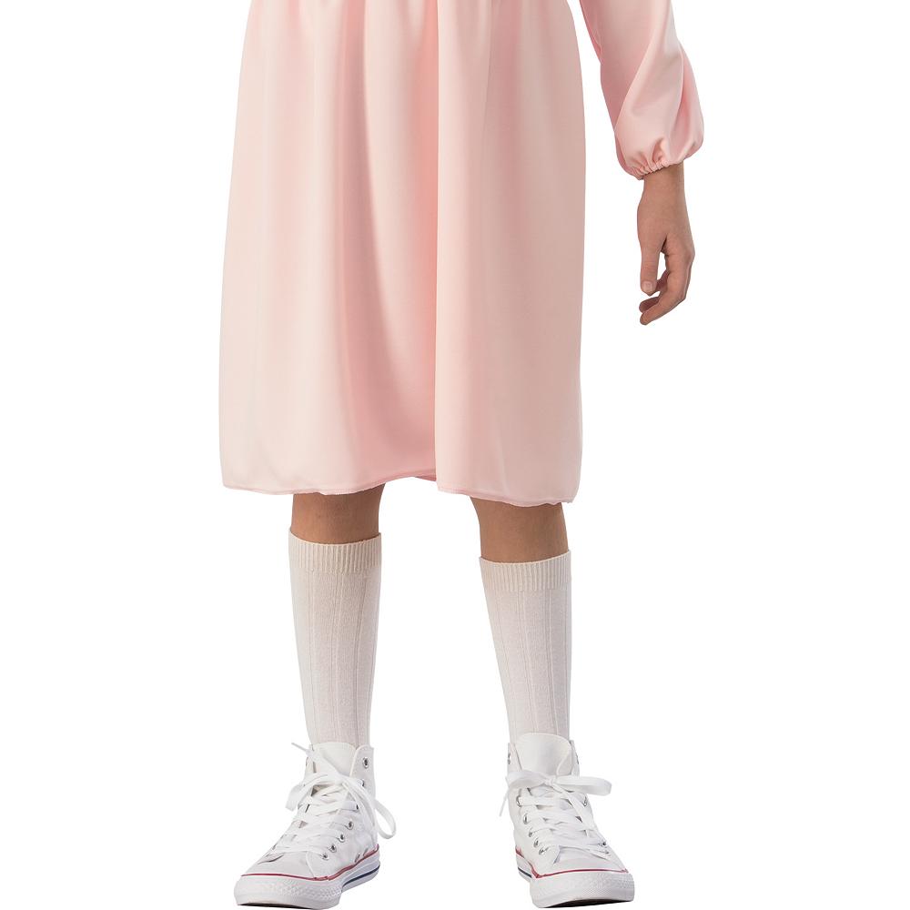 Girls Eleven Pink Dress Costume - Stranger Things Image #3