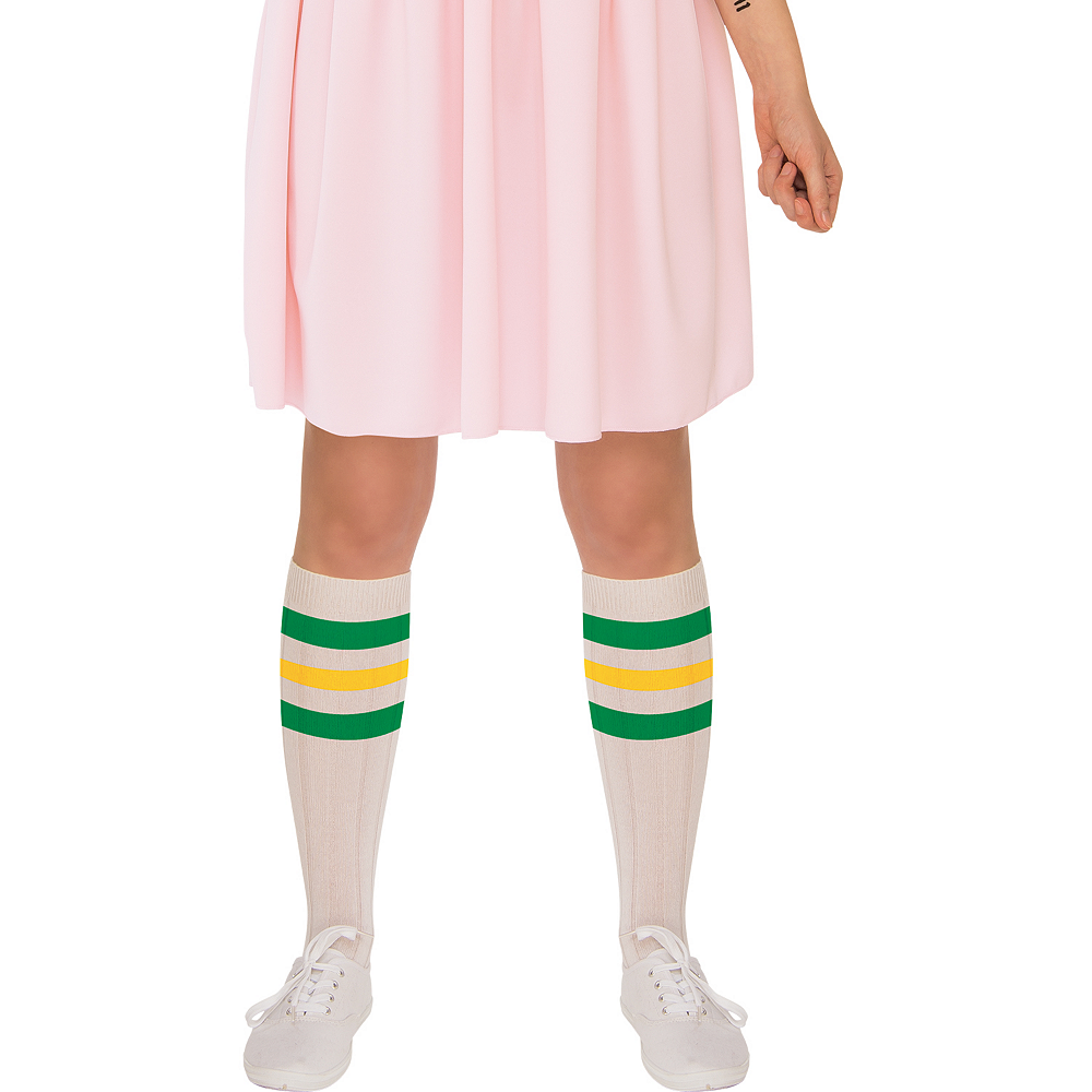 Womens Eleven Pink Dress Costume - Stranger Things Image #3