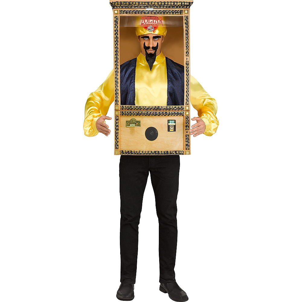 Mens Zoltar Speaks Booth Costume - Big Image #1