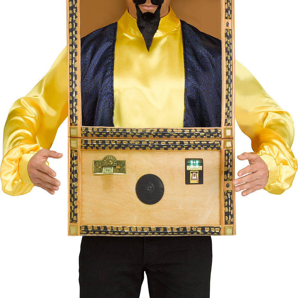Mens Zoltar Speaks Booth Costume - Big Image #2