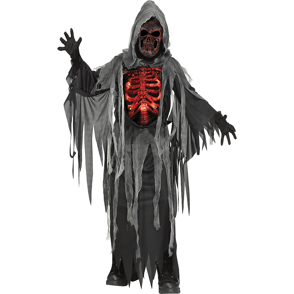 5e4c7466 Child Smoldering Reaper Costume Image #1 ...
