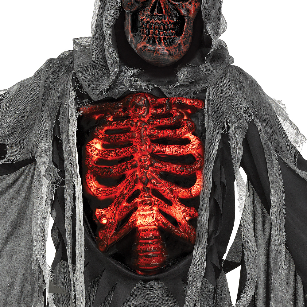 Child Smoldering Reaper Costume Image #3