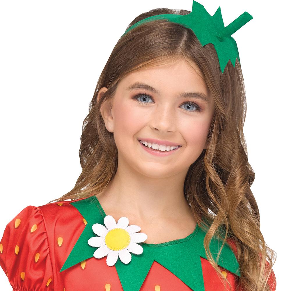 Girls Fun Fruit Strawberry Costume Image #2