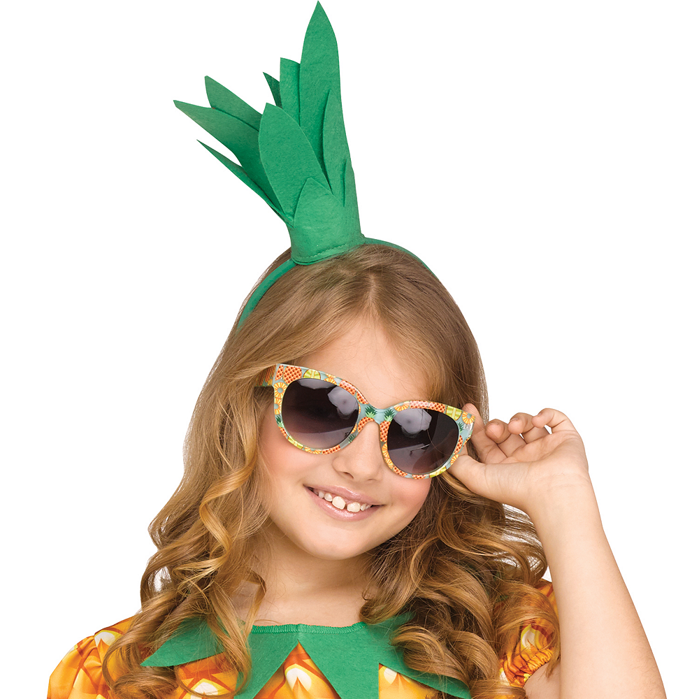 Girls Fun Fruit Pineapple Costume Image #2