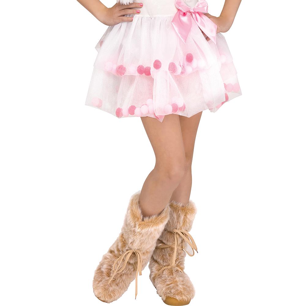 Girls Lovely Llama Costume Image #4