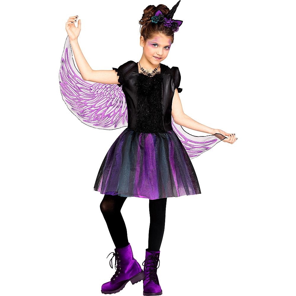 Girls Moonlight Unicorn Costume Image #1