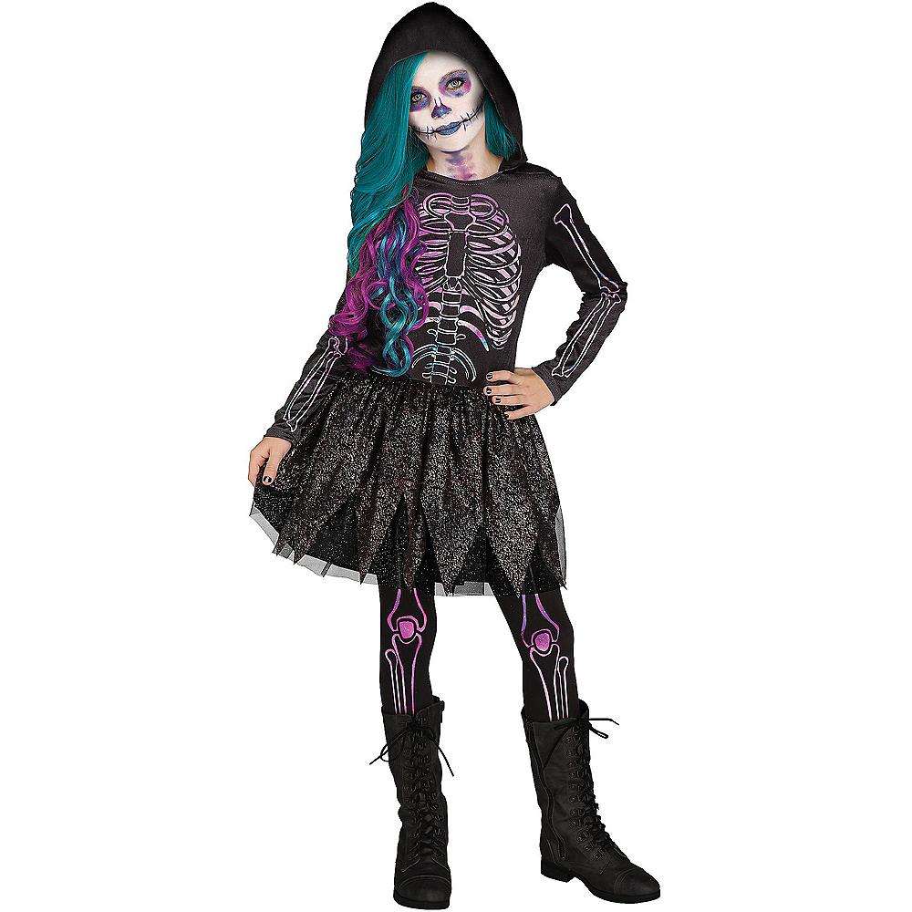 Halloween Skeleton Costume Kids.Child Galaxy Skeleton Costume