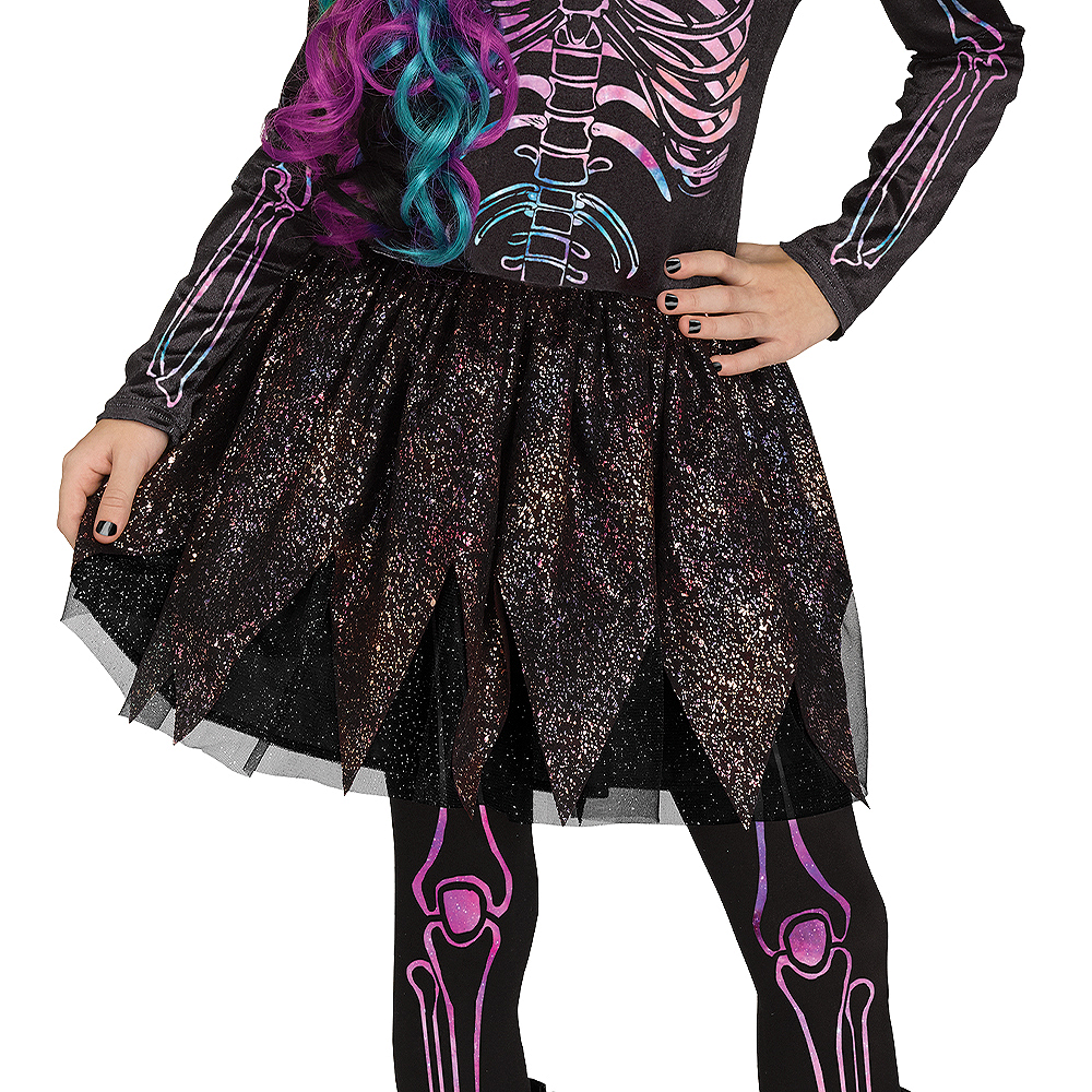 Child Galaxy Skeleton Costume Image #4