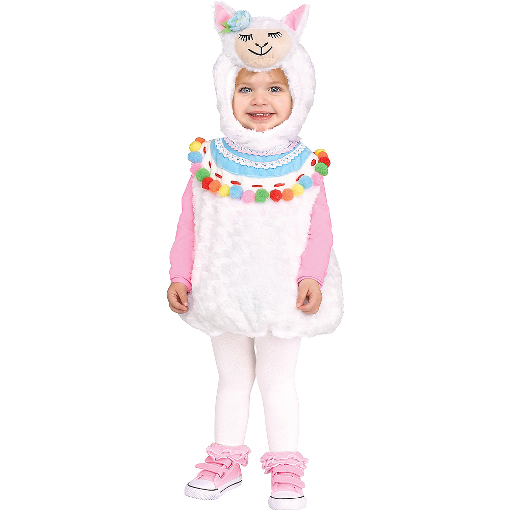 Nav Item for Baby Lovely Llama Costume Image #1
