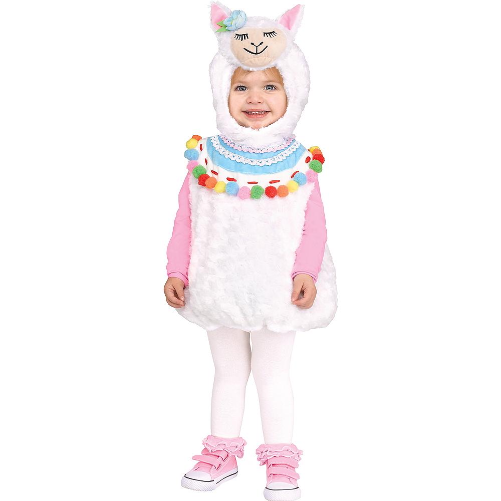 Baby Lovely Llama Costume Image #1