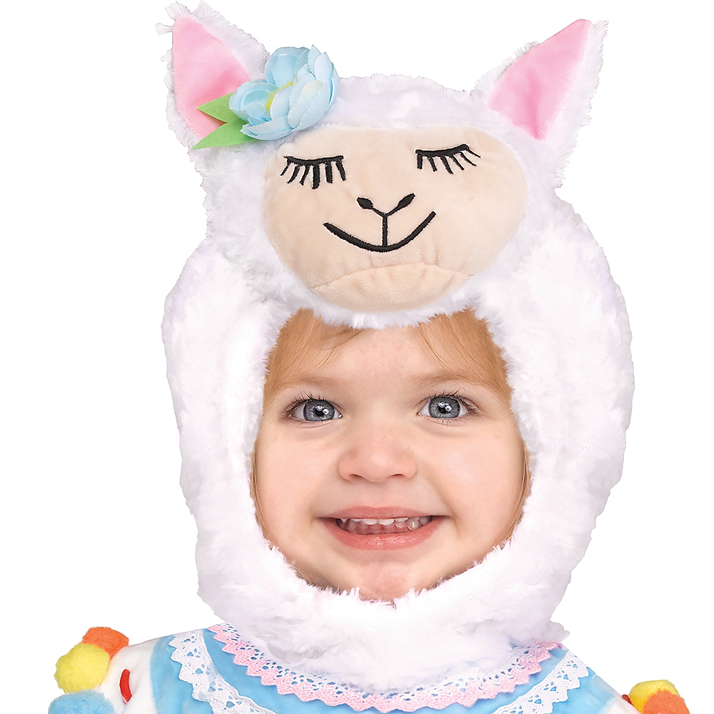 Nav Item for Baby Lovely Llama Costume Image #2