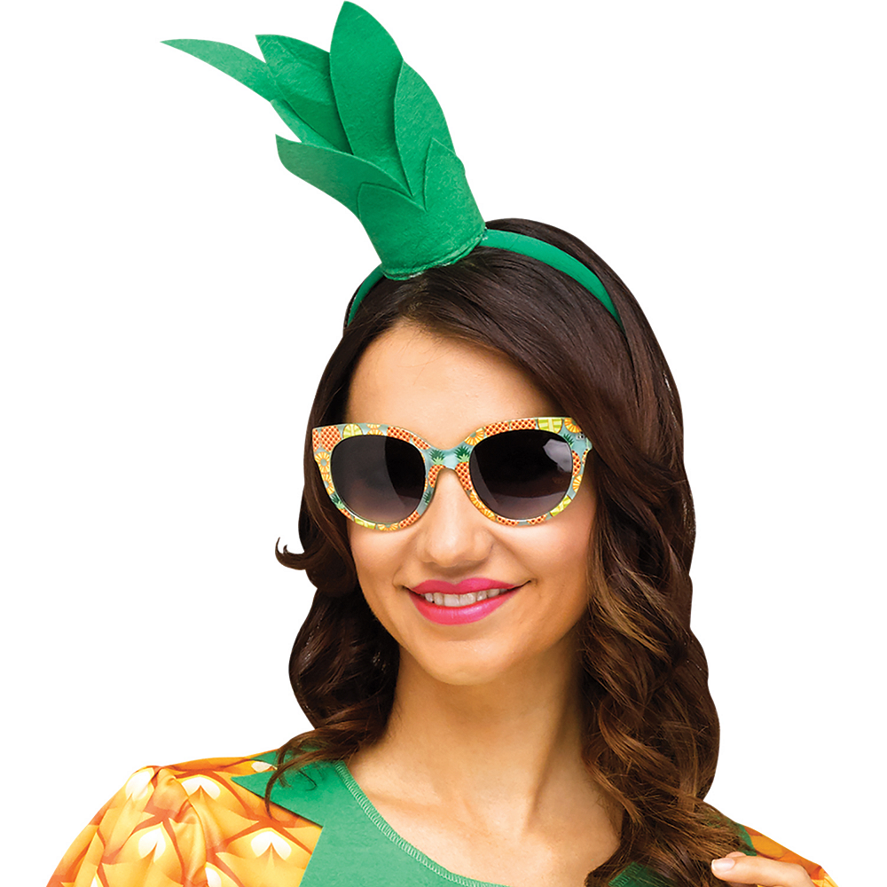Womens Flirty Fruit Pineapple Costume Image #2