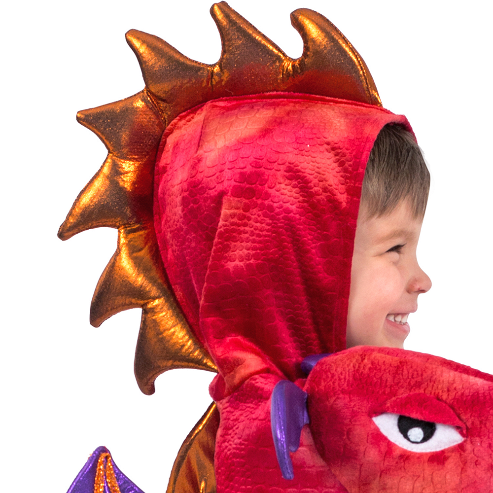 Child Chompin' Red Dragon Costume Image #2