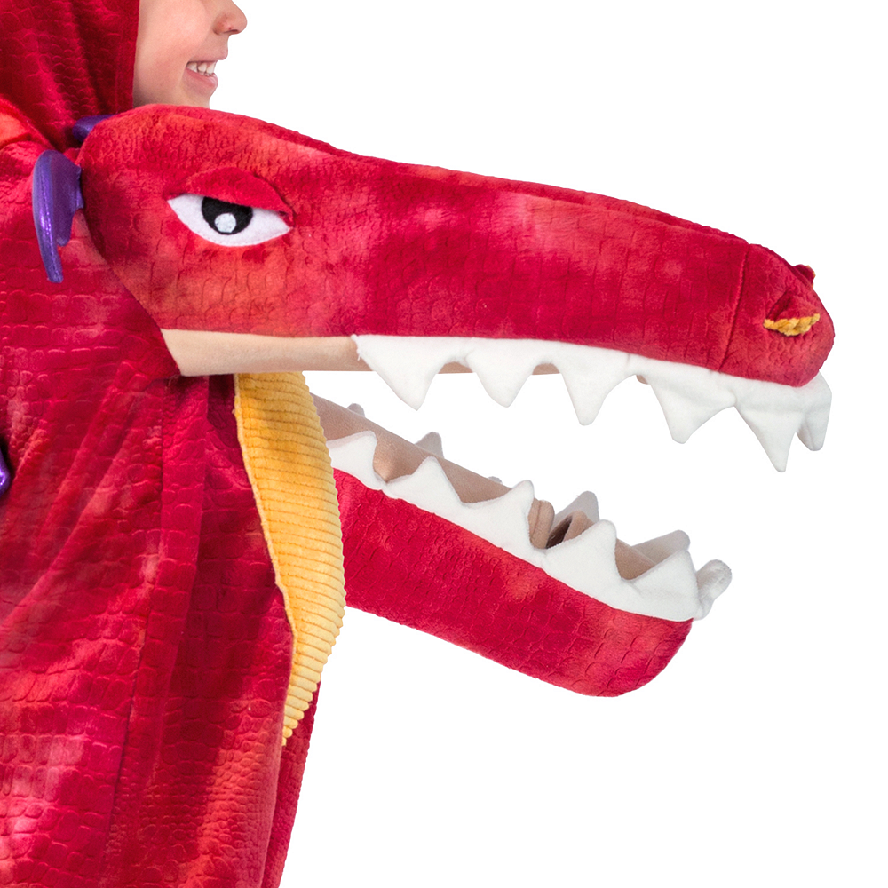 Child Chompin' Red Dragon Costume Image #3