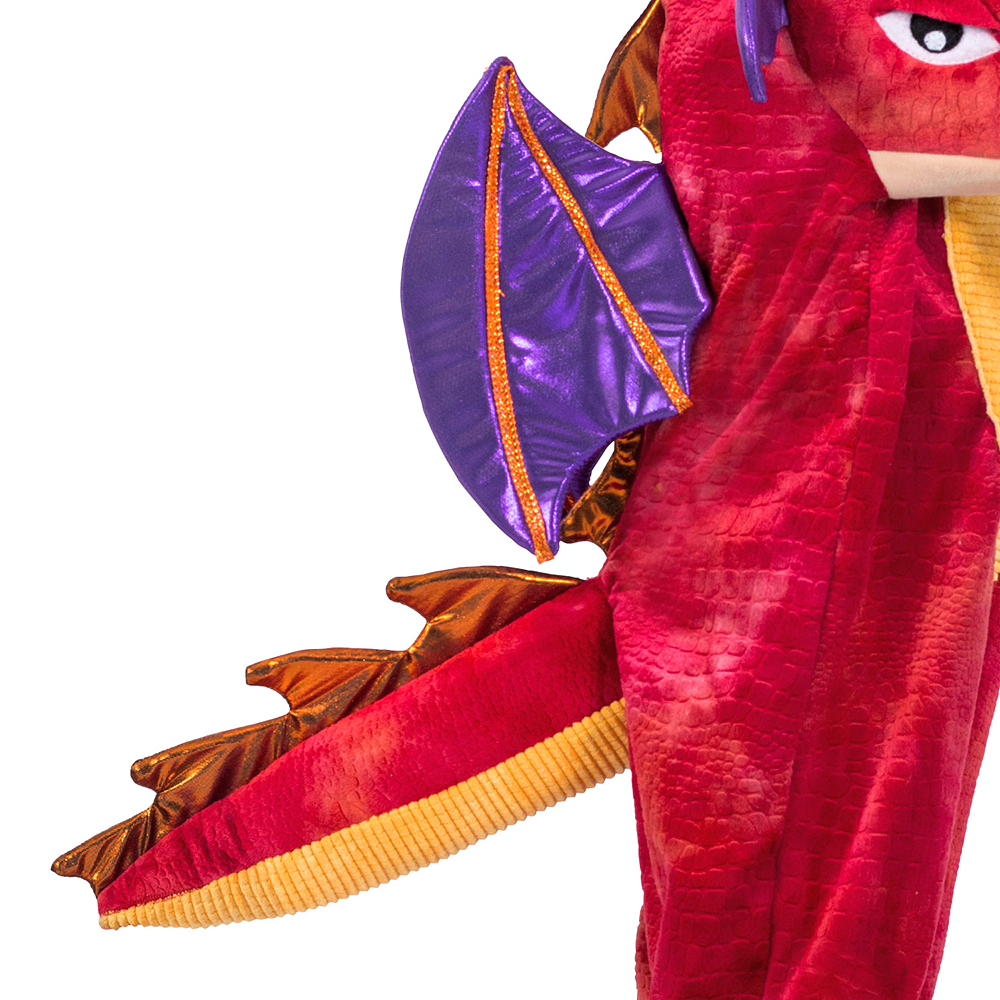 Child Chompin' Red Dragon Costume Image #4