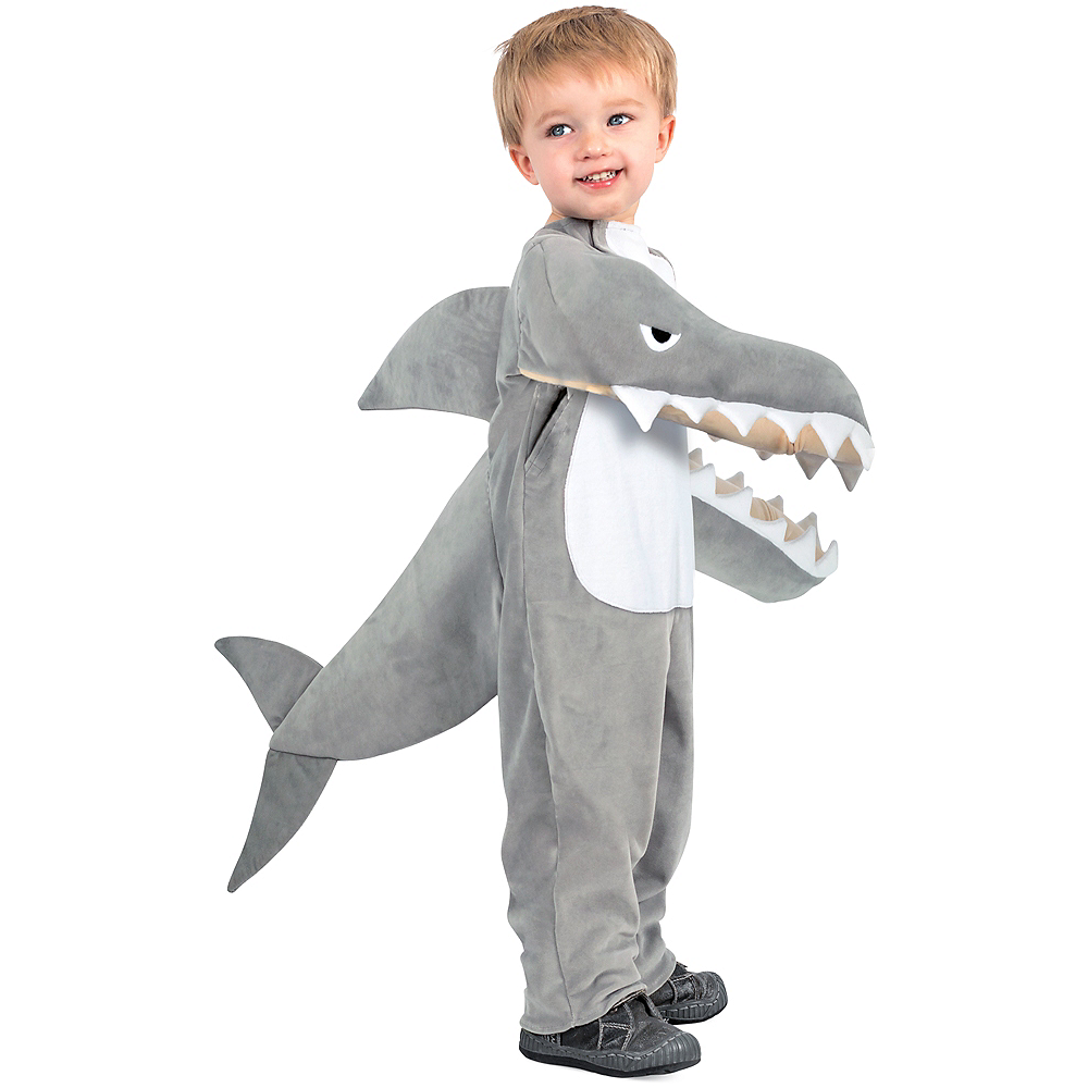 Child Chompin' Shark Costume Image #1