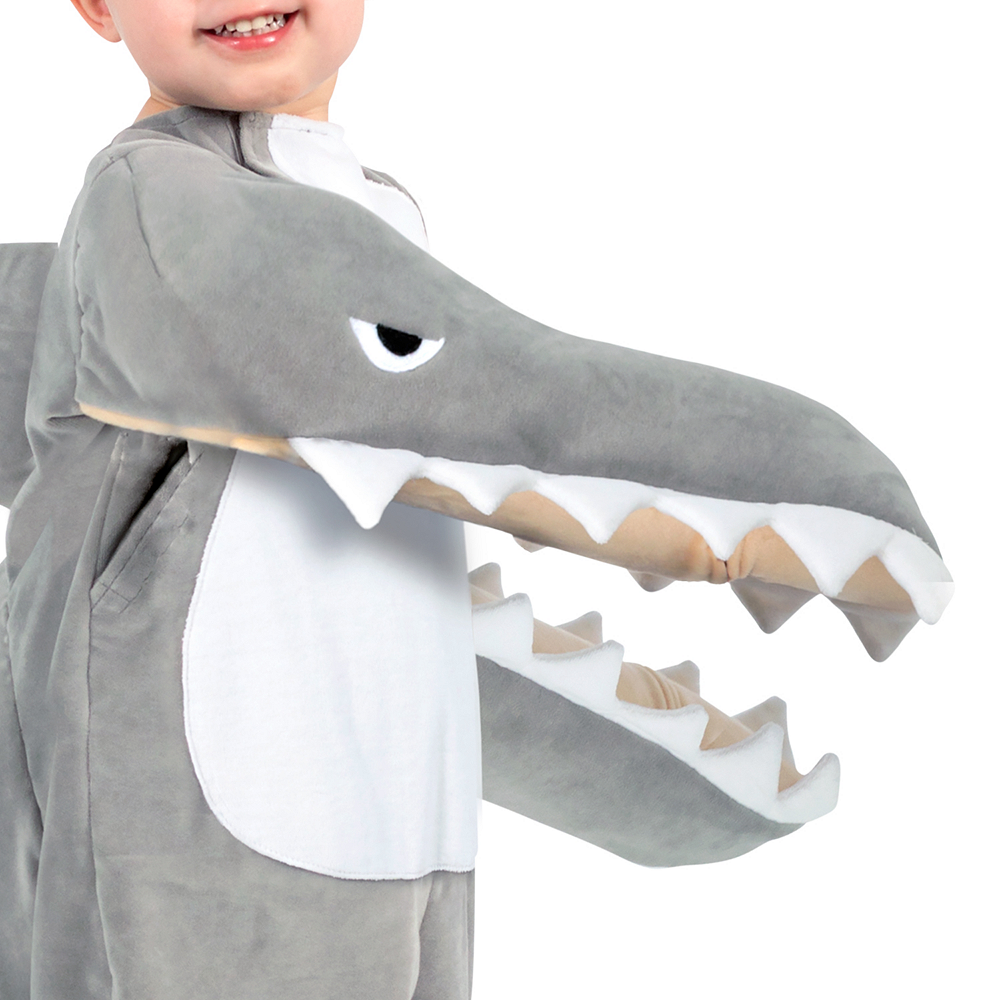 Child Chompin' Shark Costume Image #2