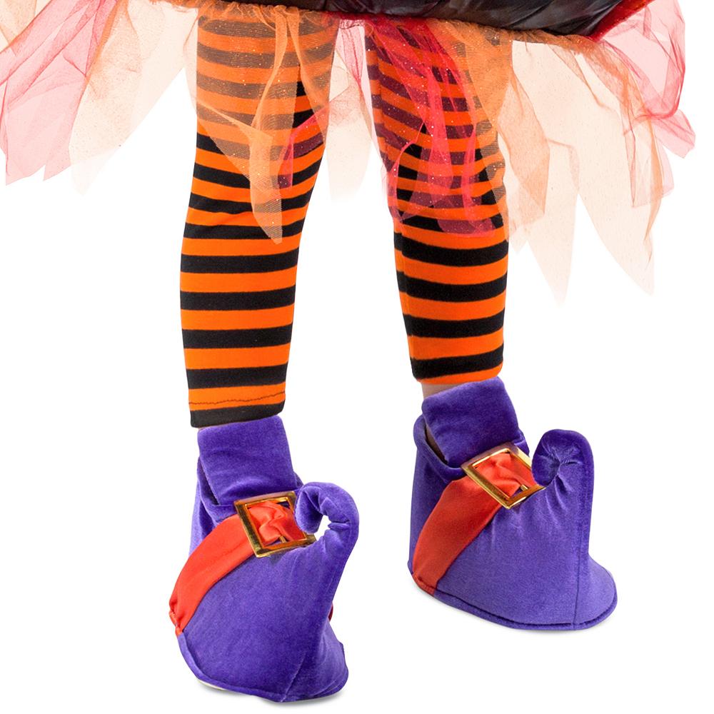 Girls Cauldron Witch Costume Image #3