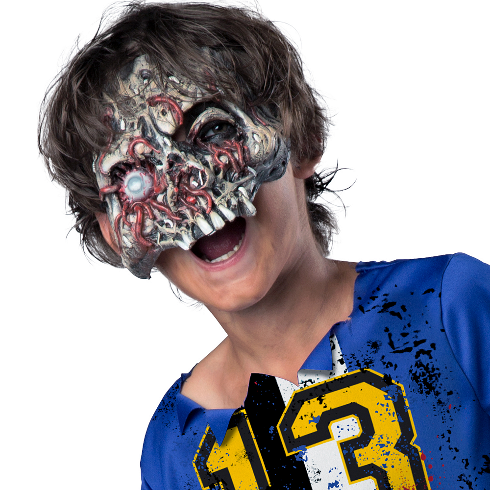 Nav Item for Boys Soccer Player Zombie Costume Image #2