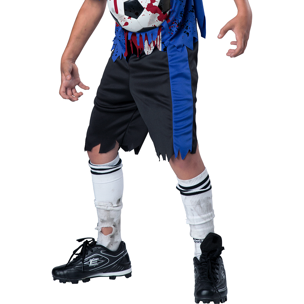 Nav Item for Boys Soccer Player Zombie Costume Image #4