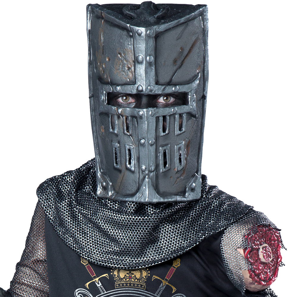 Boys One-Armed Black Knight Costume Image #2