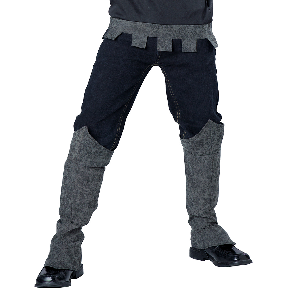 Boys One-Armed Black Knight Costume Image #4