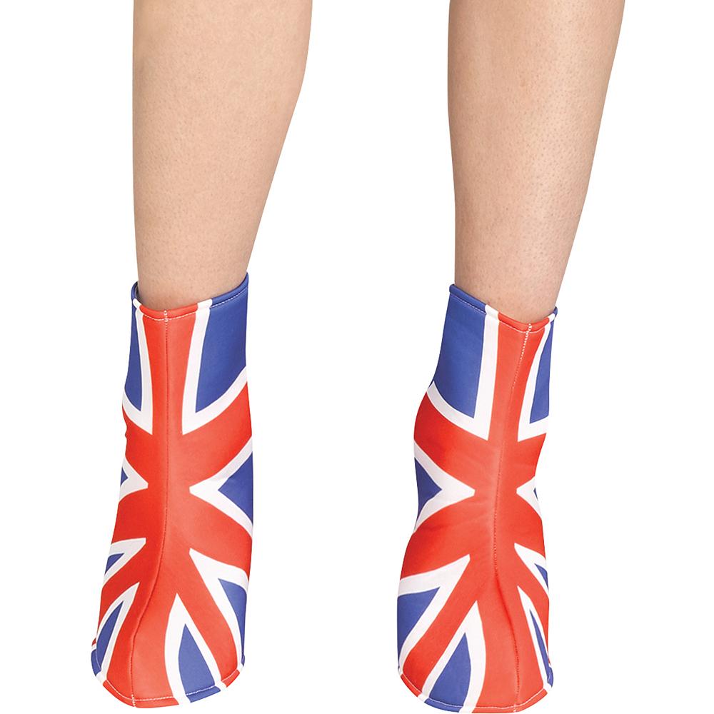 Womens Union Jack Pop Star Costume Image #3