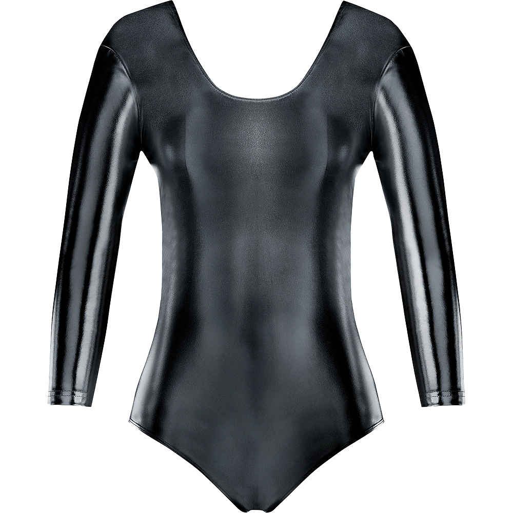 Womens Black Bodysuit Image #2